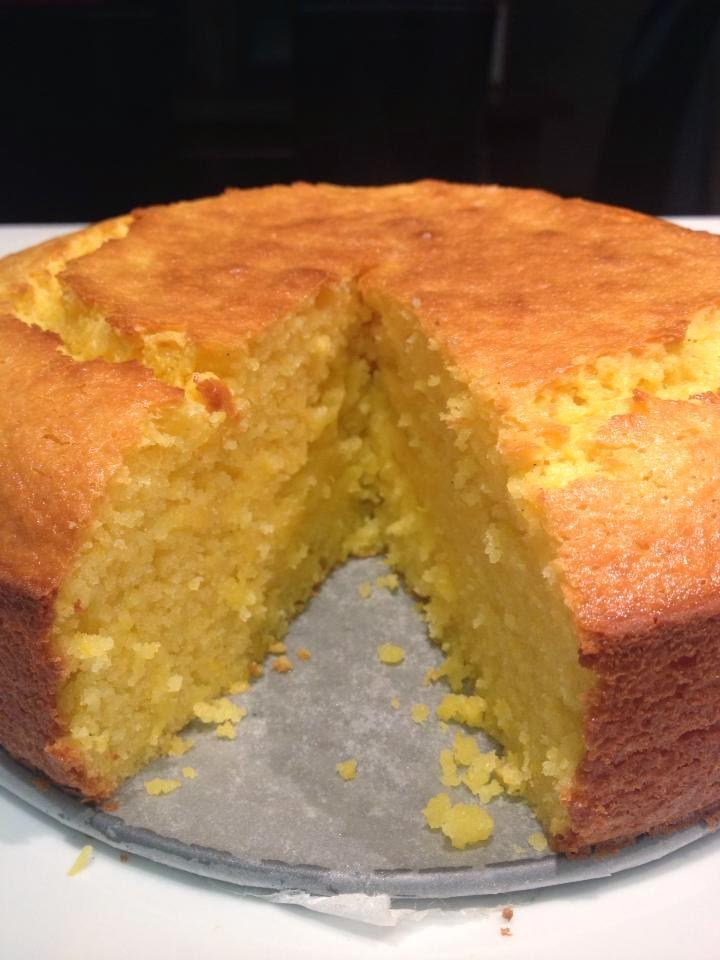 Super Moist Orange Cake Recipe
