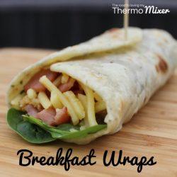 Thermomix Breakfast Wraps