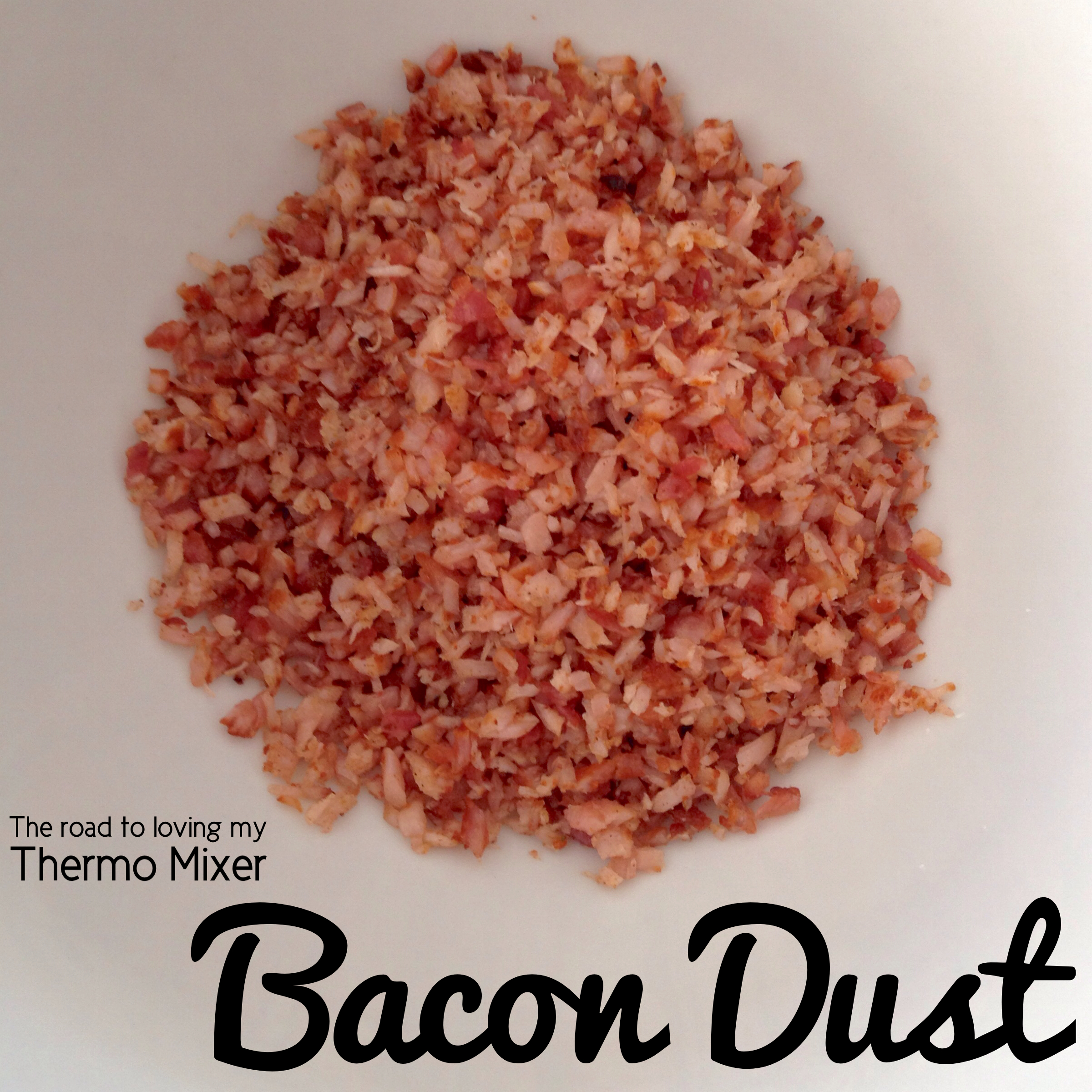 Bacon Dust - The Road to Loving My Thermo Mixer