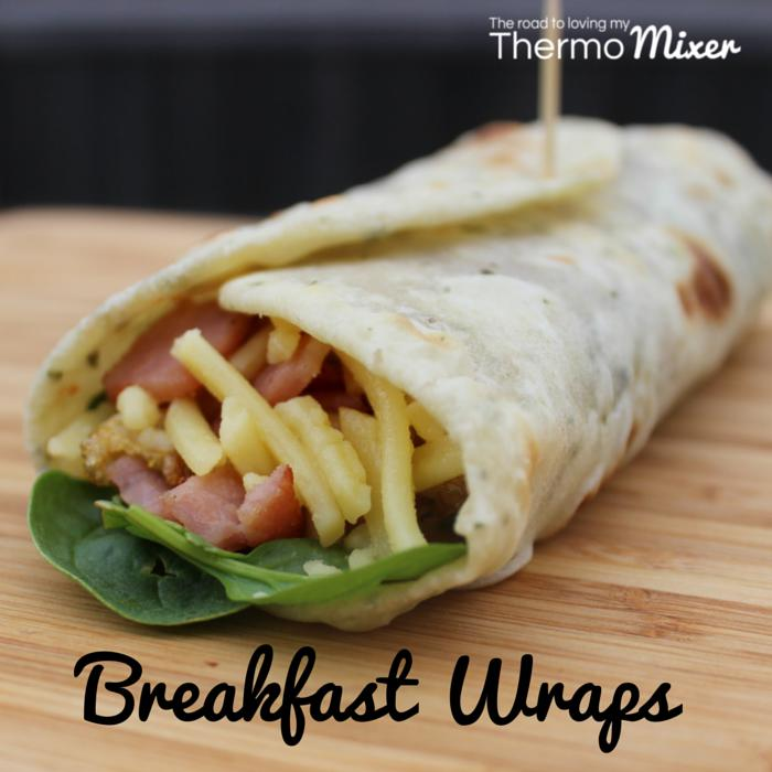 Thermomix Breakfast Wraps